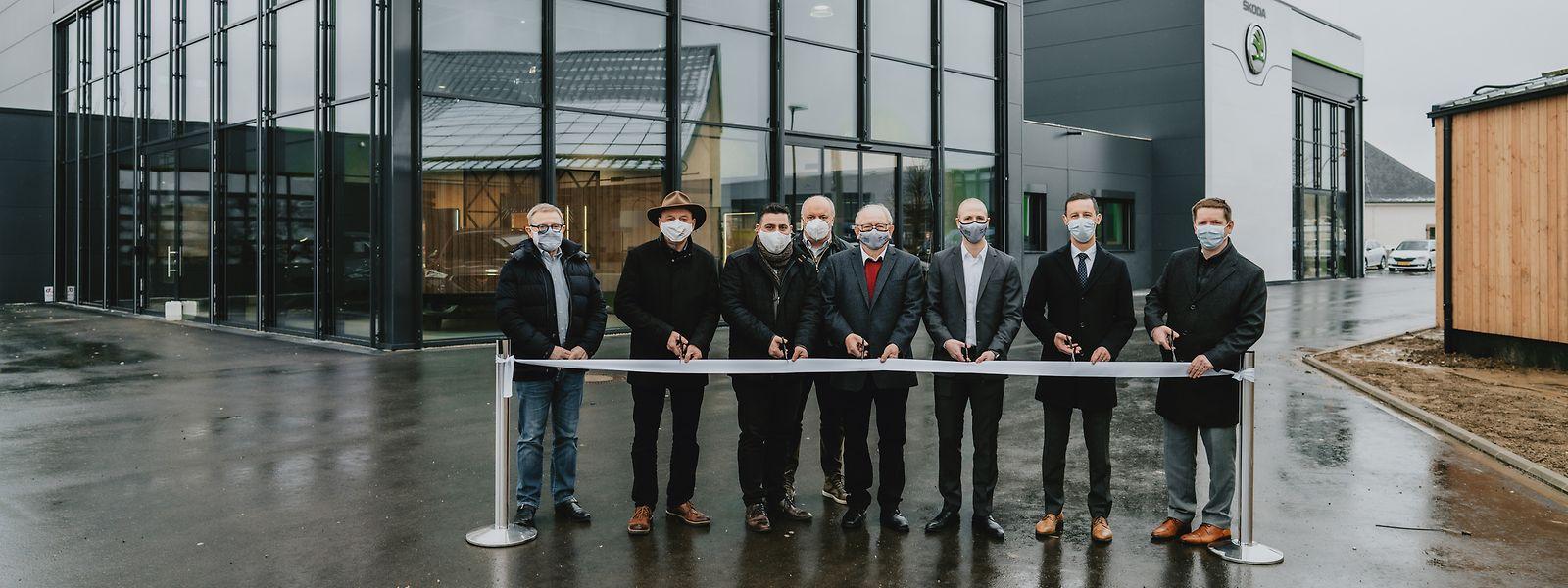 """Losch Luxemburg und Garage André Claren gehen unter dem Namen """"Claren&Cie"""" eine Partnerschaft ein."""
