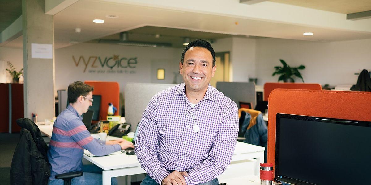 Robert Spicer, CEO von Vyzvoice.