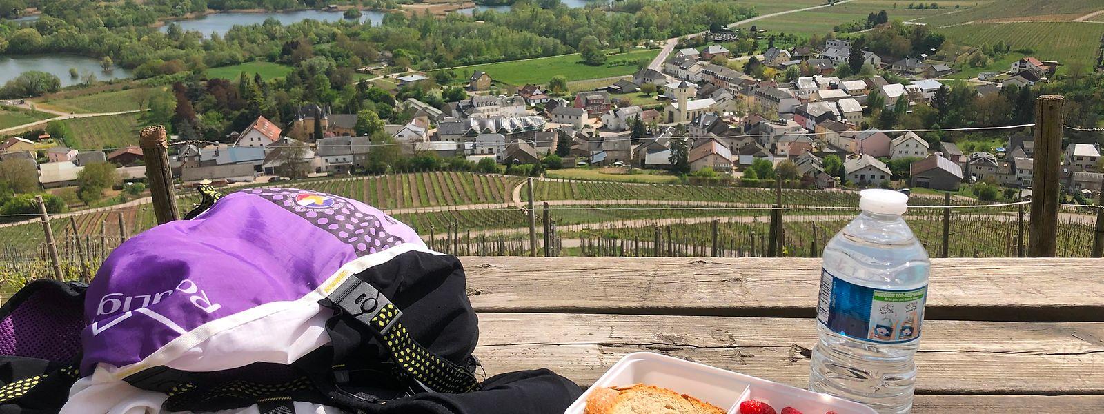 Bei einer schönen Aussicht ist der Picknickgenuss gleich doppelt so hoch.