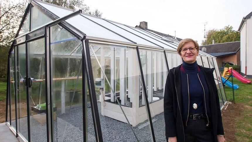 Fischzucht und Gemüseanbau gibt es in der Aquaponik-Anlage von Christiane Wickler unter einem Dach.