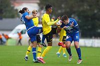Mohcine Hassan Nader (19 Dudelange) football - coupe du Luxembourg - 32 eme de Finale - Mertzig - Dudelange - 18/10/2020 - Stade de Mertzig foto : Vincent Lescaut