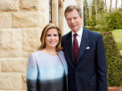 A new portait of the Grand Duke and Grand Duchess released for Henri's birthday