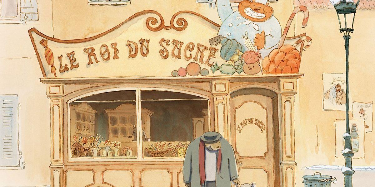 """""""Ernest et Célestine"""" erzählt die Geschichte einer ungewöhnlichen Freundschaft zwischen einem Bären und einer Maus."""