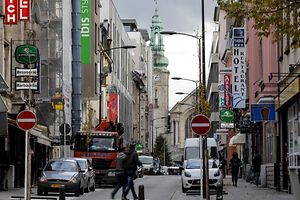 18.11.Gare /  rue Joseph Junck / Fokus Drogenhandel Foto:Guy Jallay