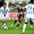 Saif-Eddine Khaoui (gauche) et Troyes ont battu Chris Philipps et le FC Metz.
