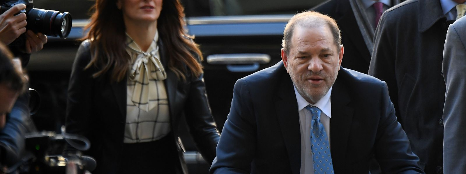 Harvey Weinstein wurde zu 23 Jahren Haft verurteilt.