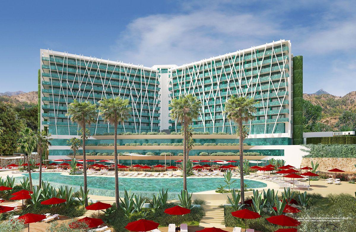 Der Club Med Magna Marbella soll 2020 seine Pforten öffnen.