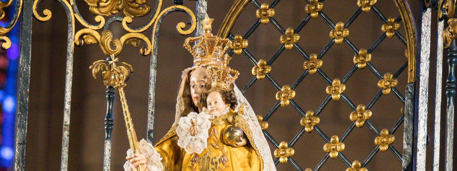 Die Veranstaltungen der Oktave 2020 fanden wegen der Corona-Pandemie in einer fast leeren Kathedrale statt.