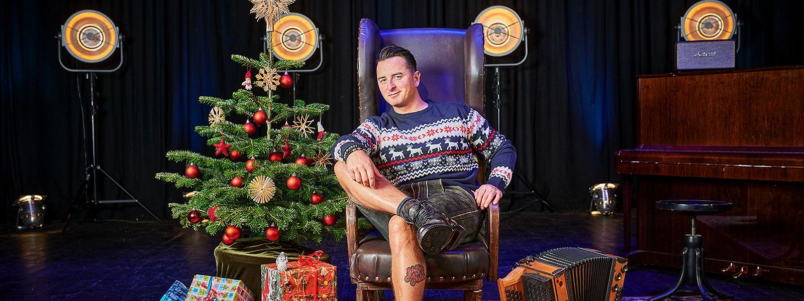 Andreas Gabalier startet mit Zuversicht und einem neuen Album in die Weihnachtszeit.
