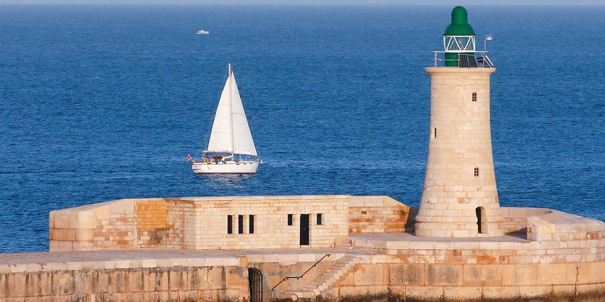 La côte de la Vallette, à Malte.