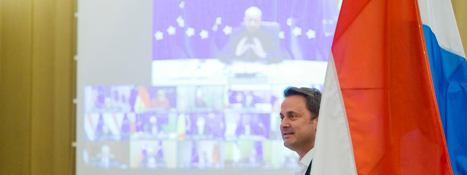 Face à la proposition de «pass sanitaire» mise jeudi sur la table lors du sommet européen, Xavier Bettel joue la carte de la prudence.