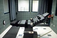Hinrichtungszelle in einem US-Gefängnis.