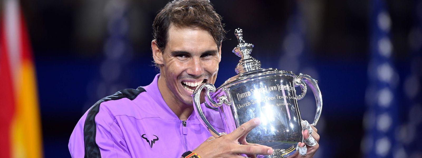 Rafael Nadal a décroché dans la nuit de dimanche à lundi son quatrième titre à Flushing Meadows.