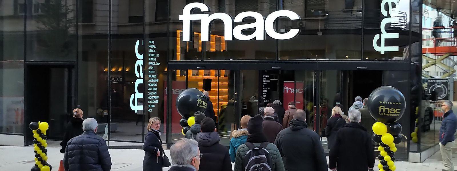 Die Kaufhauskette Fnac hat am Freitag ihre erste Filiale im Großherzogtum eingeweiht.