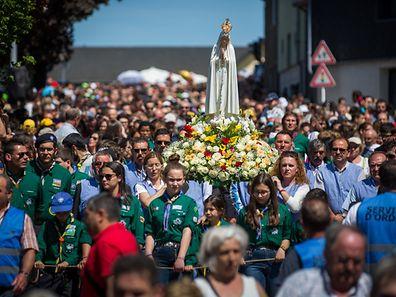 50e Pèlerinage au Sanctuaire de Notre Dame de Fátima à Wiltz, Foto Lex Kleren