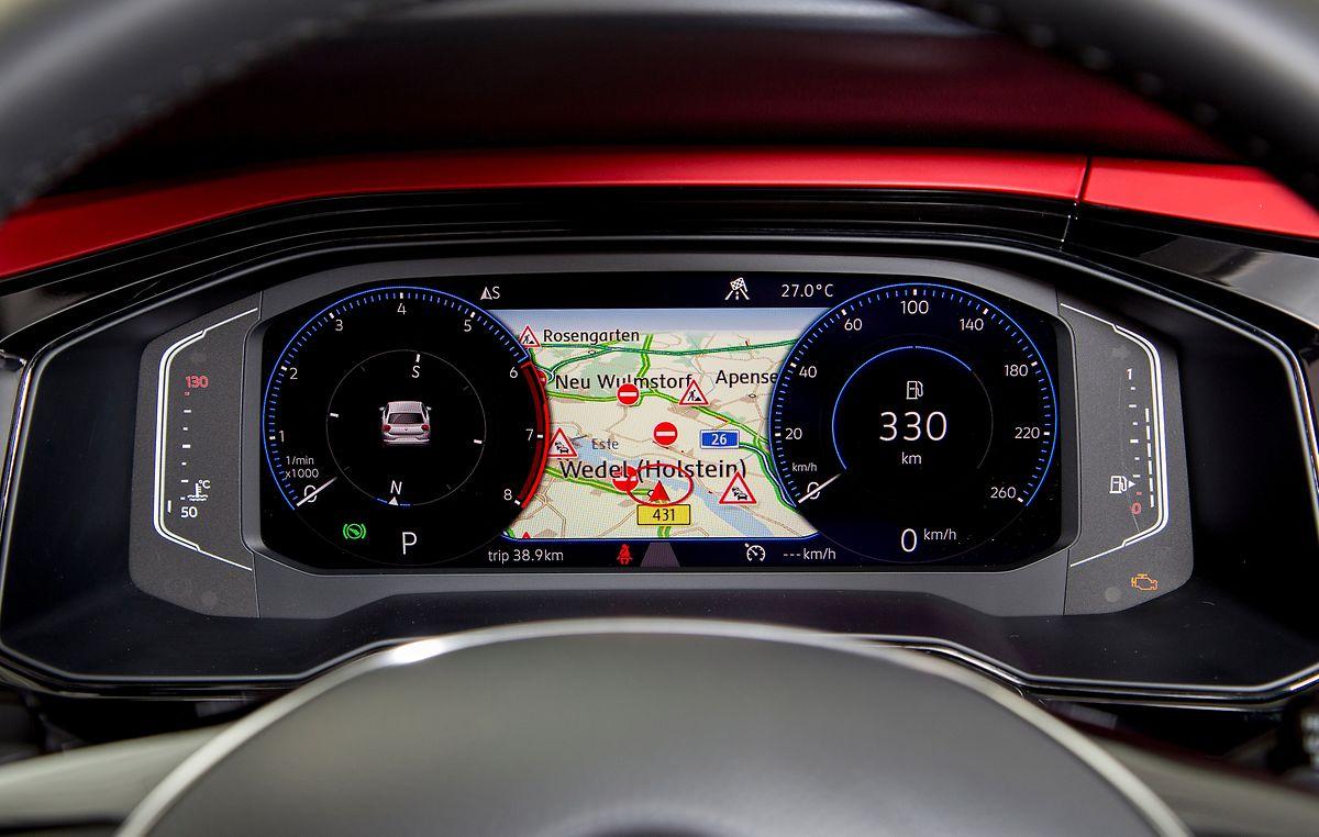 VW bietet für den neuen Polo optional das volldigitale Active Info Display an.