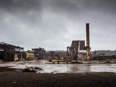 Dunkle Wolken über der Luxemburger Stahlindustrie. Schifflingen steht seit 2012 still.