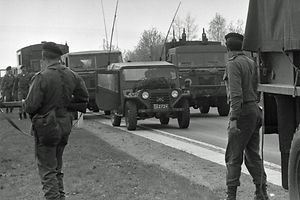 """Luxemburger Soldaten im Jahr 1984 im Rahmen des Oesling84-Manövers. Ex-Geheimdienstdirektor erklärt die Rolle der Geheimstruktur """"Stay behind""""."""