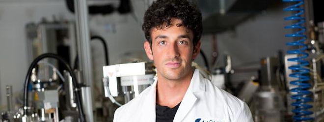 Der 28-jährige Félix Urbain hat einen Masterabschluss in Materialwissenschaften.