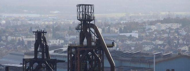 Die Hochöfen des ArcelorMittal-Werkes in Florange.
