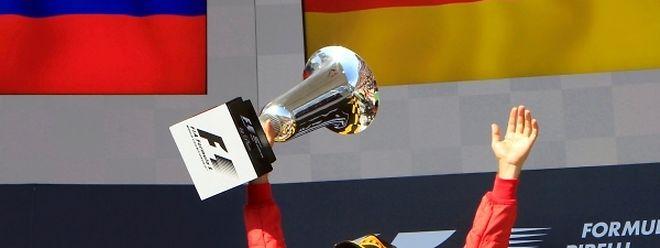 Este é o segundo triunfo da época para Vettel