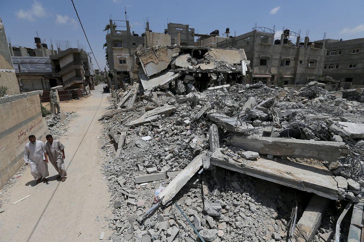 Gaza-City nach 50 Tagen Krieg.