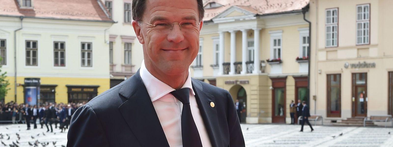 Das Lachen dürfte Ministerpräsident Mark Rutte mittlerweile vergangen sein nach seinem Faux-Pas im Vorfeld der Wahlen.