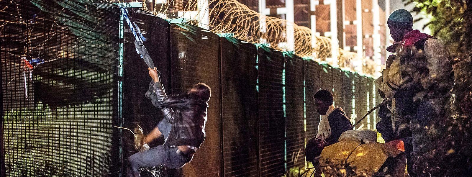 Der Grenzschutz könnte im Notfall durch Frontex gewährleistet werden.