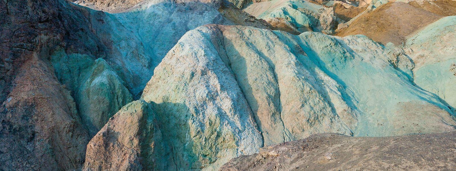 """Wunder der Natur: Die""""Artist's Palette"""" beeindruckt mit ihren bunten Mineralformationen."""