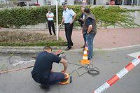 Drei Tage nach dem Vorfall hatte die Polizei im direkten Umfeld der Tatwohnung nach einem Giftbehälter gesucht.