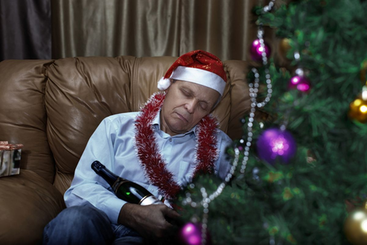 Too much tipple can lead to family fights. Photo: Shutterstock