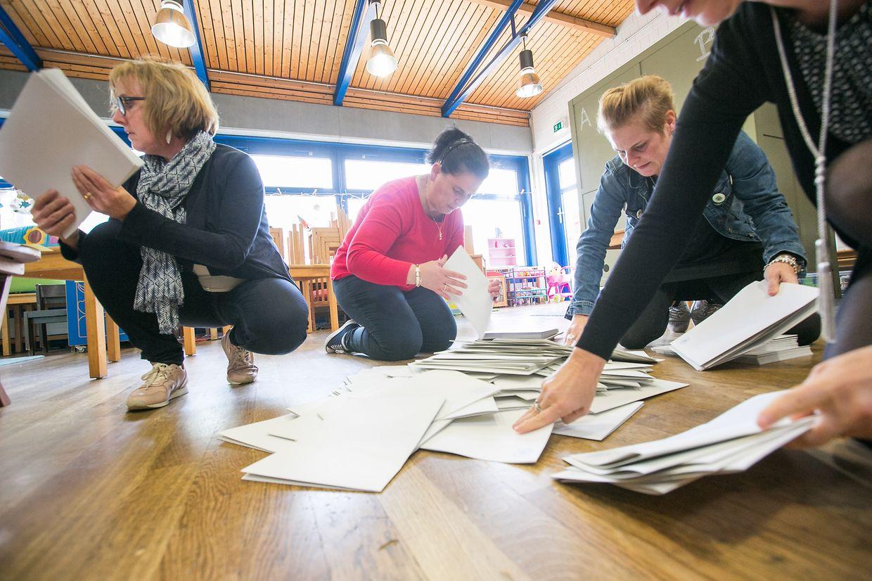 Das große Zählen hat in Düdelingen begonnen.
