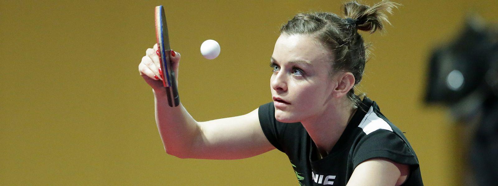 In Doha werden fünf Olympiaplätze vergeben, Sarah De Nutte will einen von ihnen.