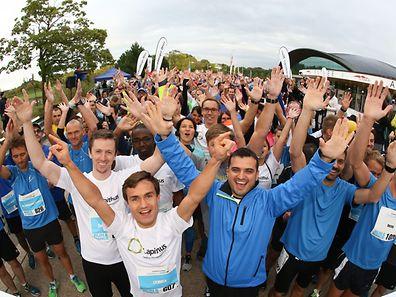 Près de 1.400 coureurs issus de plus de 100 entreprises férues de course à pied y ont participé l'an passé.