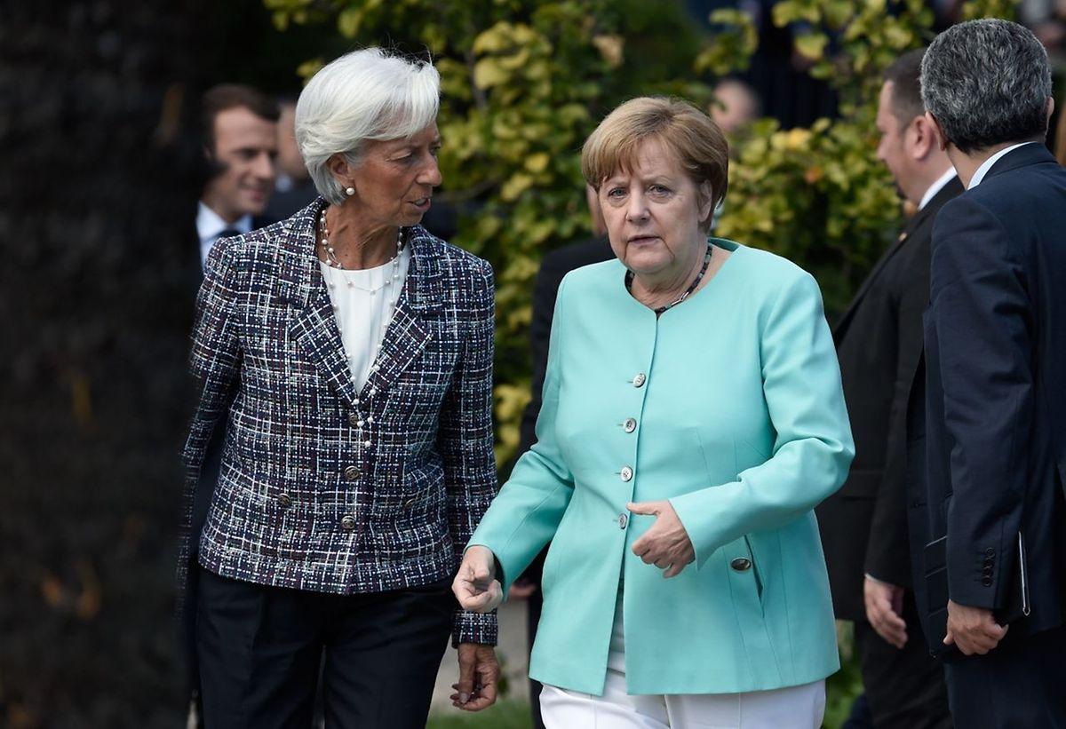 «Toute la discussion sur le sujet du climat a été très difficile, pour ne pas dire pas du tout satisfaisante», a déclaré Angela Merkel.