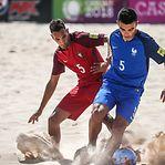 Cinco portugueses nomeados para melhor do mundo no futebol de praia