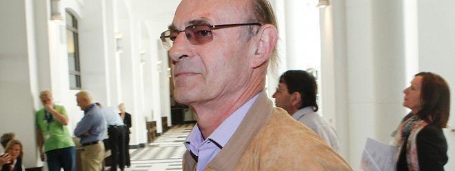 Ein Zeuge wider Willen: Bernard Ehmann am Dienstag vor Gericht.