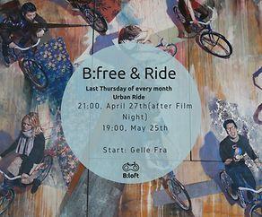 B:Loft Film Night - ein besonderer Abend für Fahrradfilme