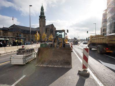 Ab Montag wird die Baustelle am Bahnhof endgültig der Geschichte angehören.