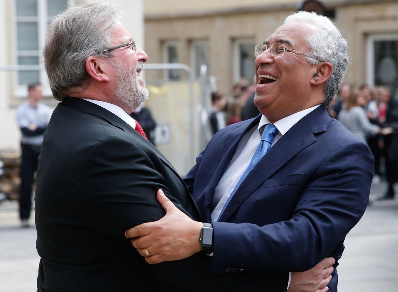 António Costa foi recebido na quarta-feira à tarde no Parlamento pelo presidente da Câmara dos Deputados, Mars di Bartolomeo