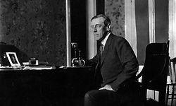 US-Präsident Woodrow Wilson (1856 - 1924) war kein Verfechter von Gleichheit.