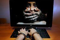 07.08.11 Kinderpornographie im Internet, Paedophilie, Kinderschaender,Gefahr im Internet. Foto:Gerry Huberty