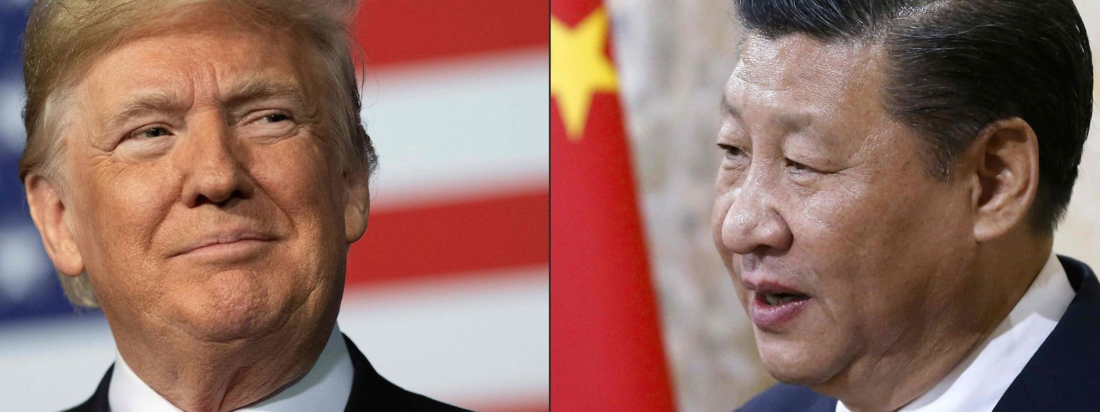 Die Zeichen zwischen US-Präsident Donald Trump (l.) und seinem chinesischen Amtskkollegen Xi Jinping stehen auf Sturm.