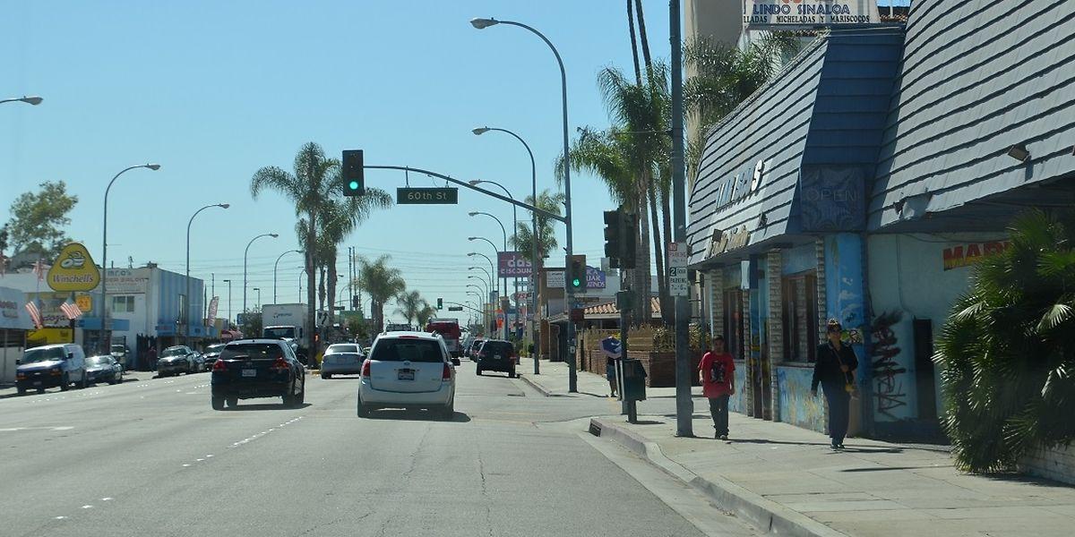 Die Stadt Maywood in Kalifornien.