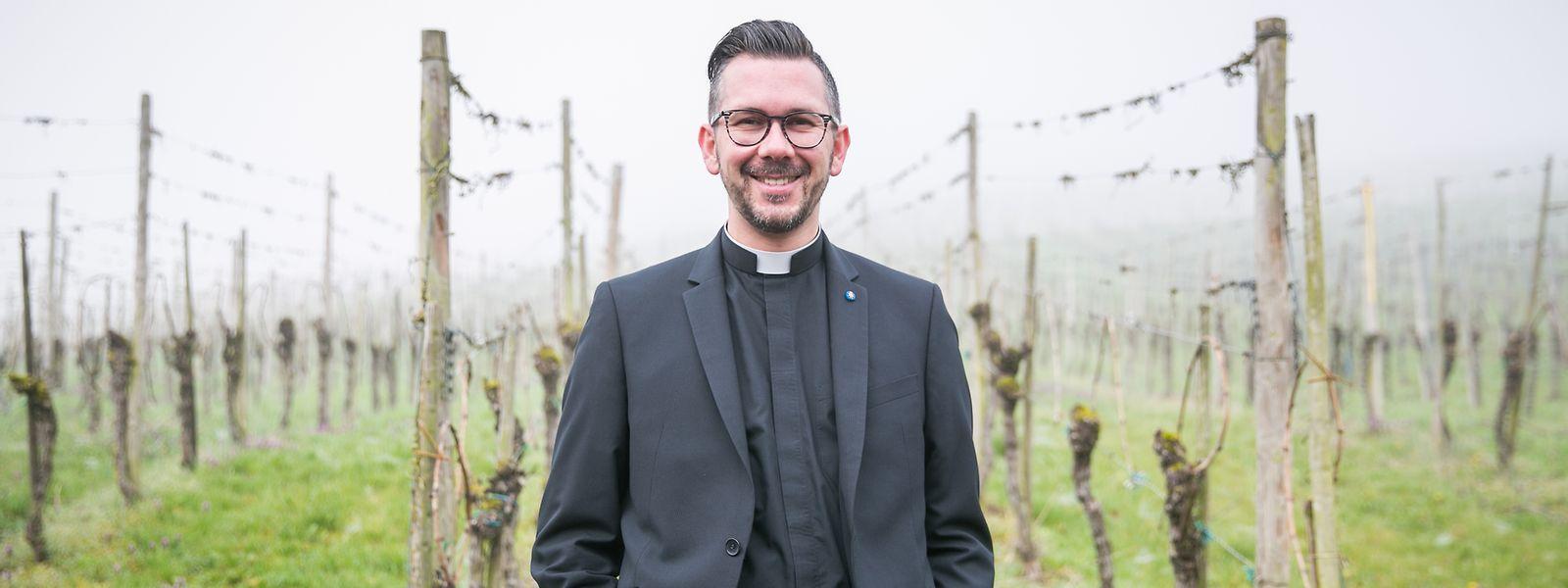 Daniel Graul, Pfarrmoderator der Pfarrei Dräilännereck Musel a Garner St. Nicolas.