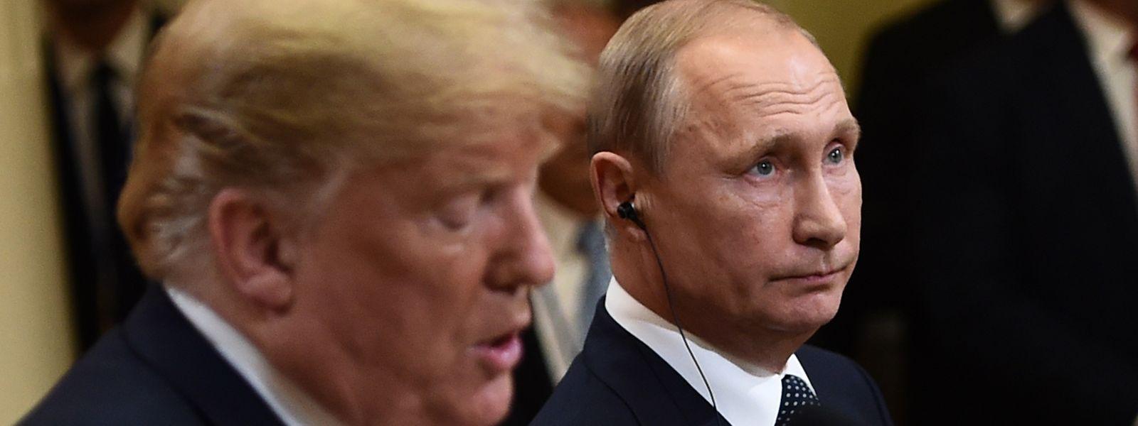 """""""Gut verlaufen"""", urteilt Trump, während Putin von """"nützlichen Gesprächen"""" spricht."""