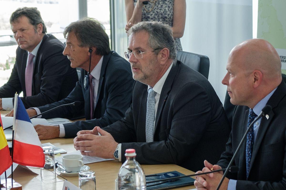 Pour le président de l'UniGR, «l'Université du Luxembourg, créée à partir de peu, est désormais devenue actrice de l'économie».