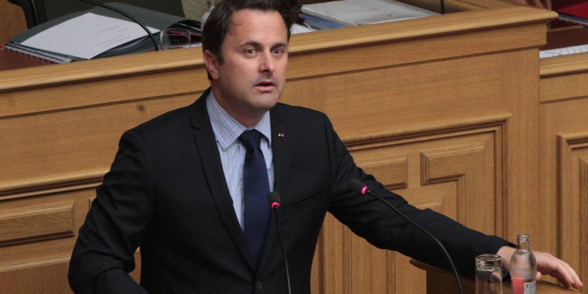 Xavier Bettel, Premier ministre, devra expliquer pourquoi il n'a pas informé les députés de la commission parlementaire de sa rencontre avec cet ancien agent du SREL