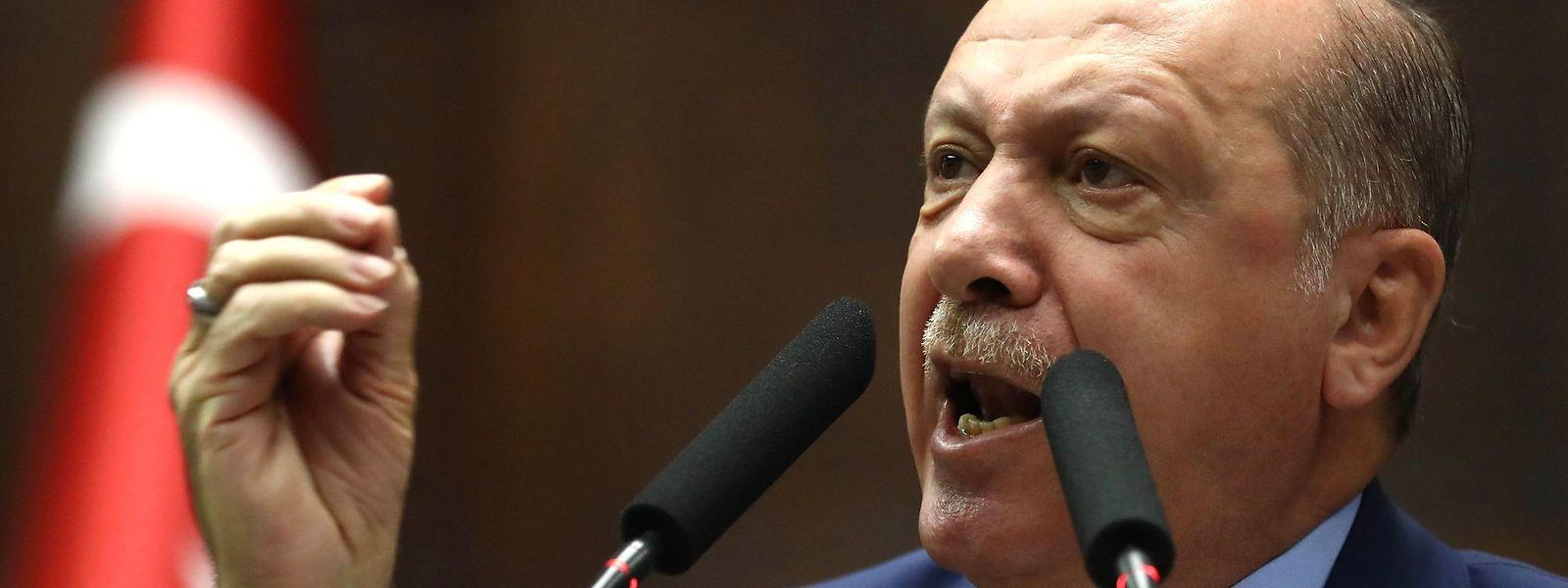 """Erdogan beschuldigt die saudische Führung in einem Gastkommentar in der """"Washington Post"""" direkt."""