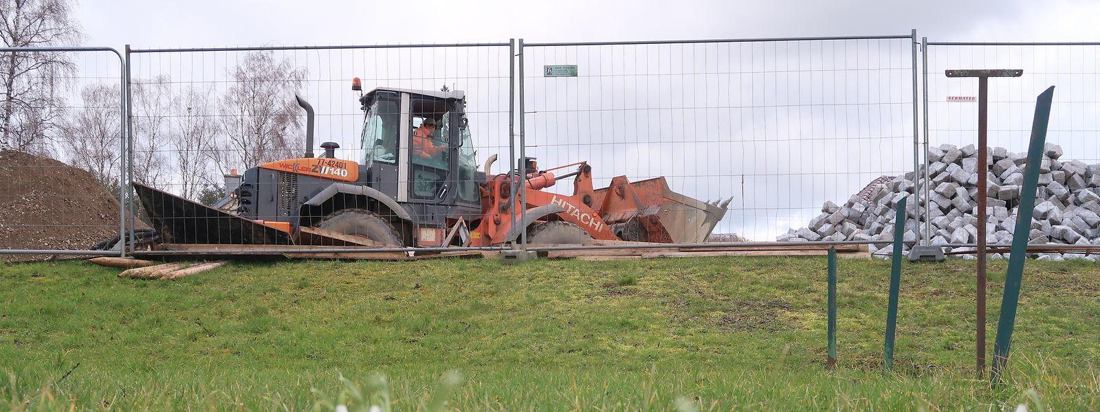 An allen Ecken wird in der Gemeinde Manternach gebaut.